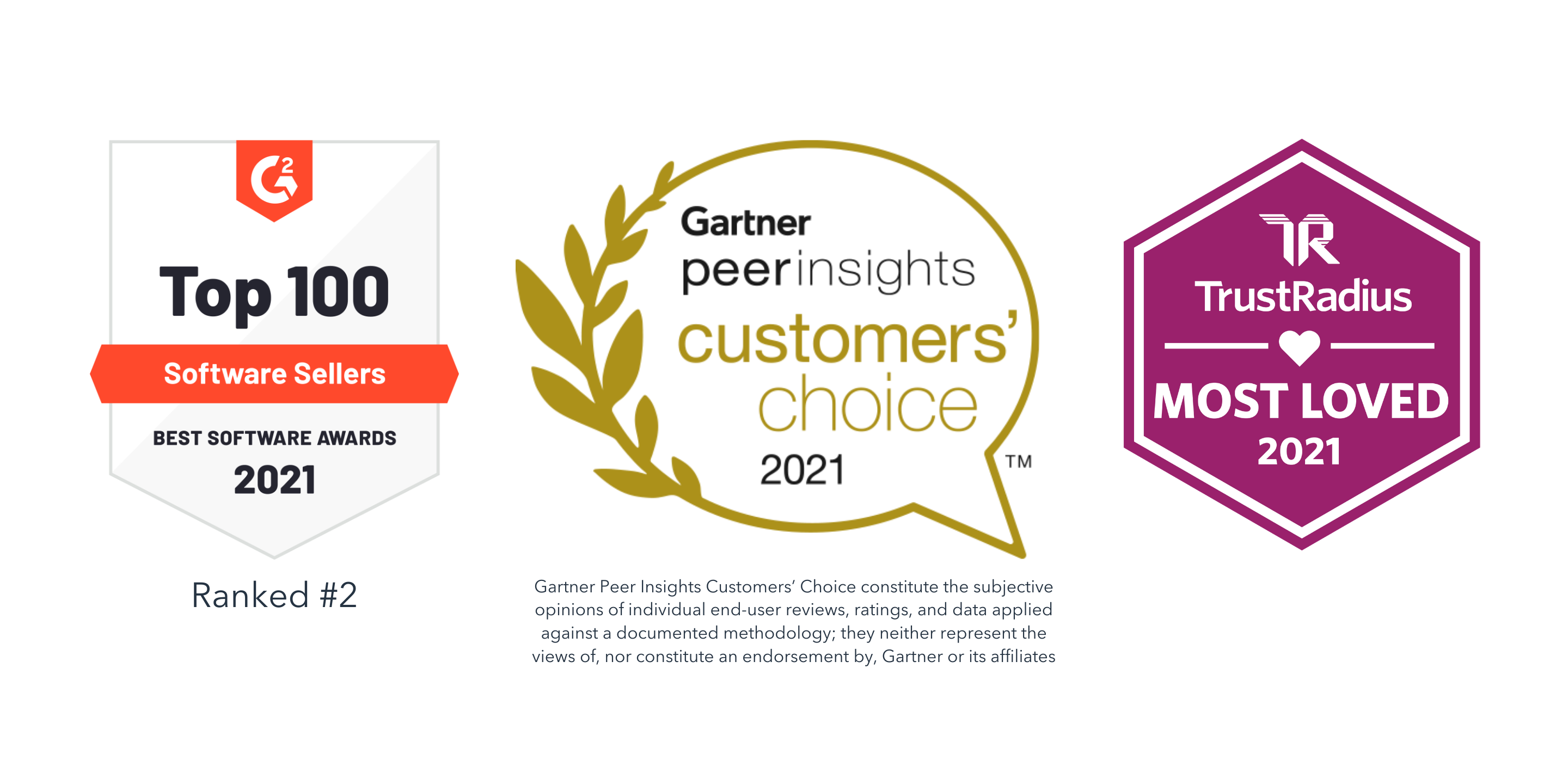 HubSpot Earns Multiple Customer Review Awards, Including #2 Best Global Seller for 2021 by G2